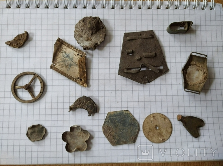 Старинные артефакты (реликвии), 13 шт, фото №3