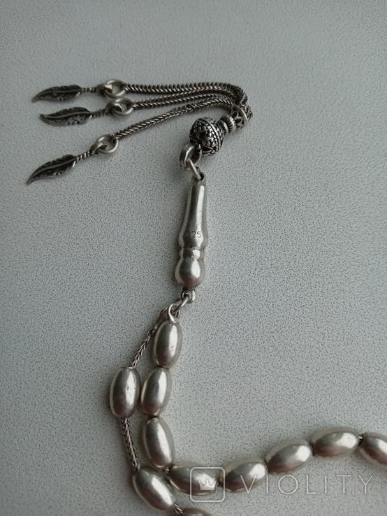 Четки серебрянные, фото №6