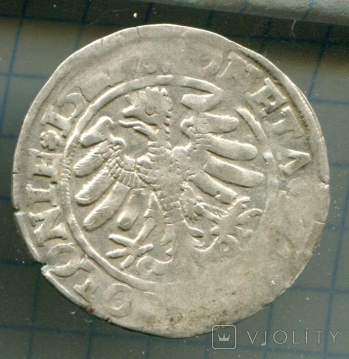 Сігізмунд 1 гріш 152-ті Польща, фото №3