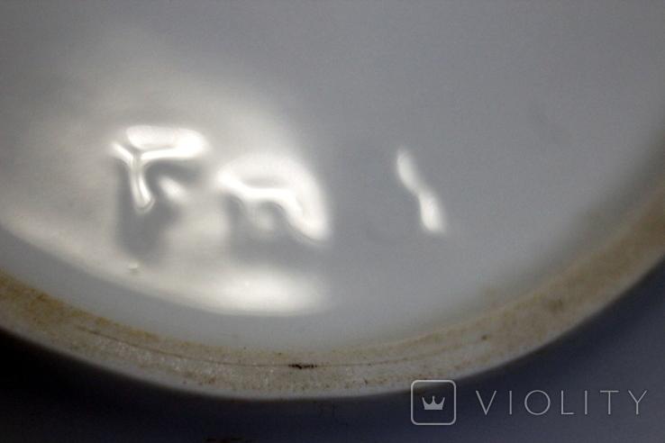 C.T/ Altwasser Germany 29 блюдо из фаянса (Германия) 28 х 18 см., фото №8