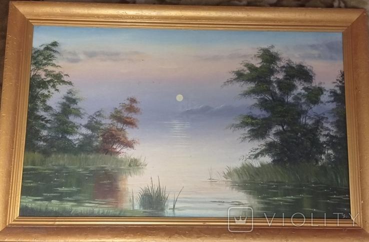 Картина 82*126 з підписом., фото №2