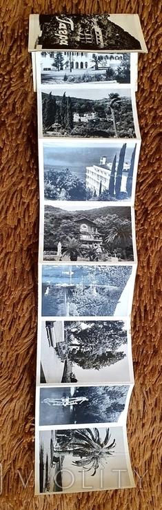 """Книжечка состоящая из фото """"Гагра"""" 1960г., фото №5"""