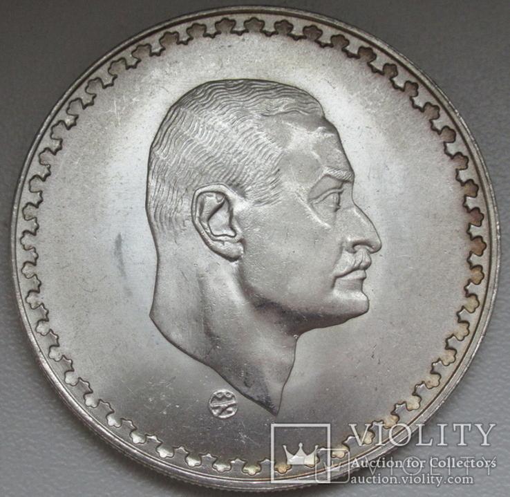 "1 фунт 1970 г. Египет "" Президент Насер "", серебро, фото №6"