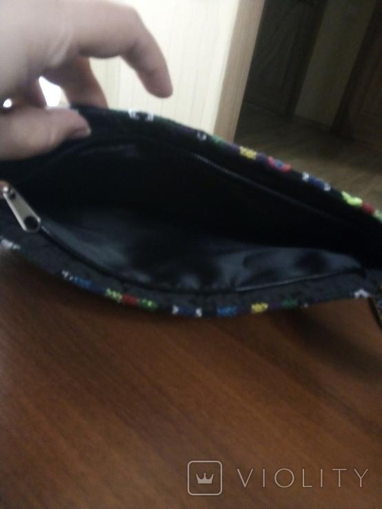 Вышитая сумка, этностиль, фото №6