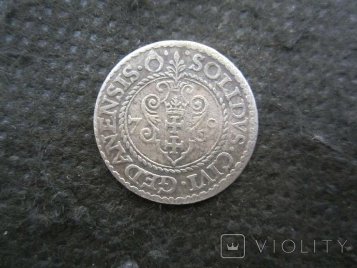 Гданьский солид 1579 г., фото №3