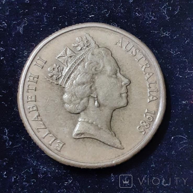 1 доллар 1985года, фото №2