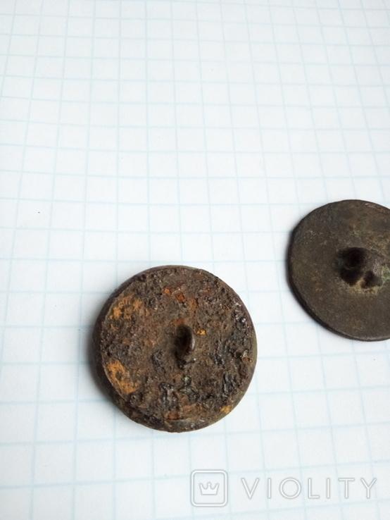 Две старые интересные пуговички, фото №4