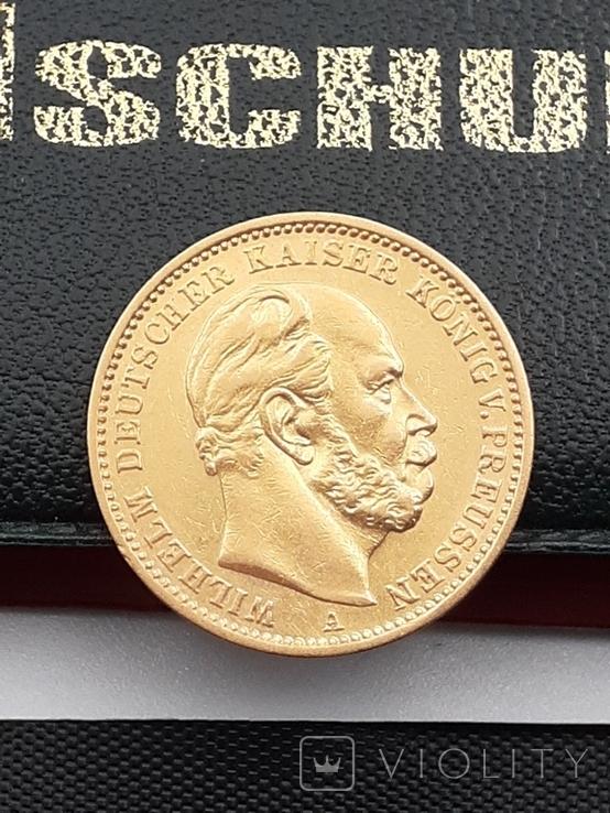 20 марок 1872. Пруссия. Золото., фото №6