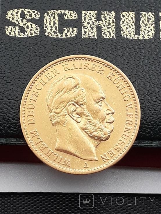 20 марок 1872. Пруссия. Золото., фото №7