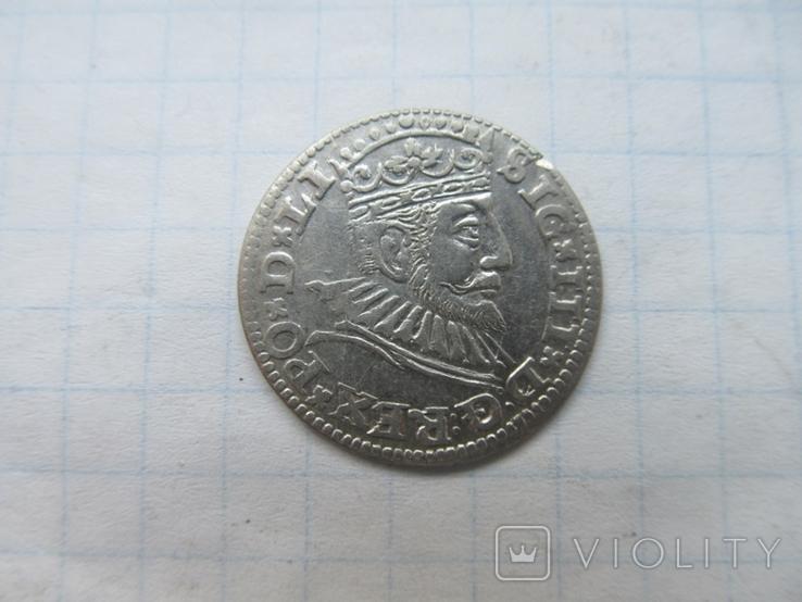 Трояк 1592 г, фото №2