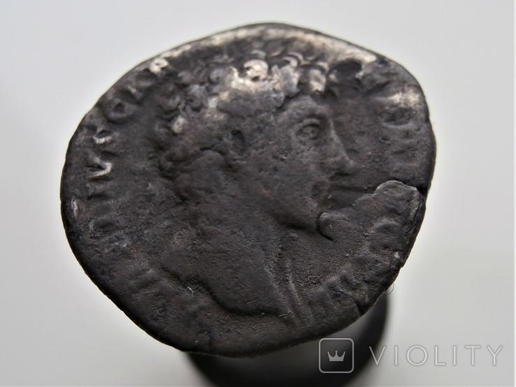 Денарий М.Аврелия, фото №2
