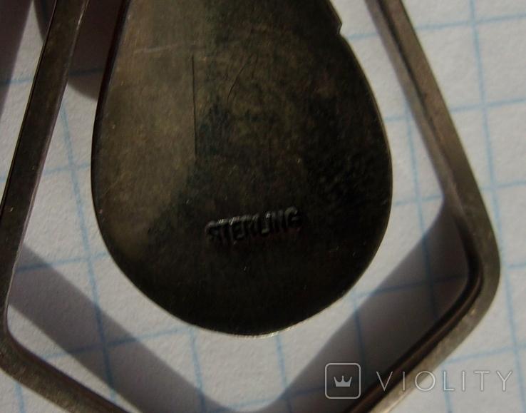 Кулон Навахо серебро., фото №6