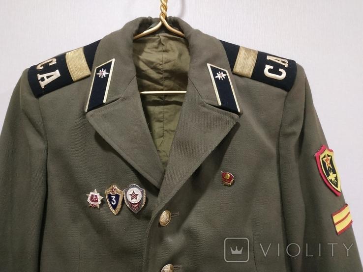 Дембельский китель старшего сержанта ВС СССР, фото №3