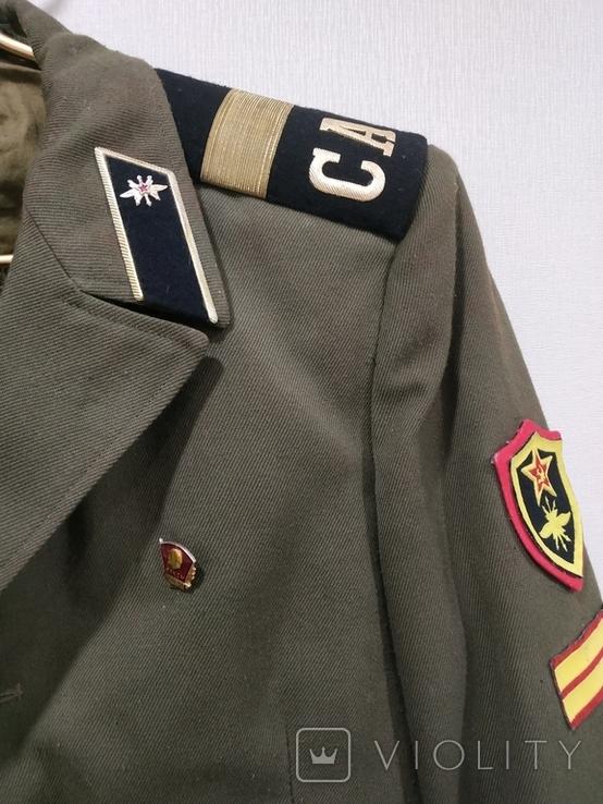 Дембельский китель старшего сержанта ВС СССР, фото №5