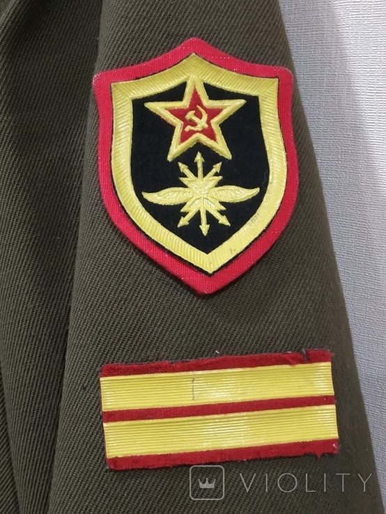 Дембельский китель старшего сержанта ВС СССР, фото №8