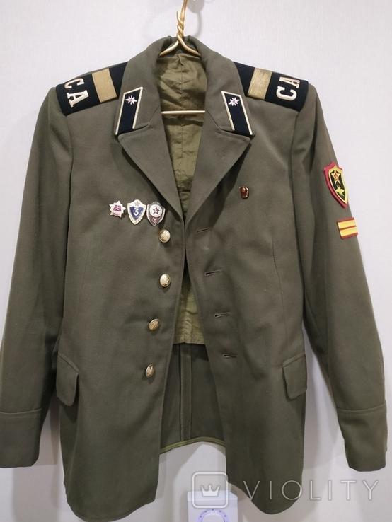 Дембельский китель старшего сержанта ВС СССР, фото №9