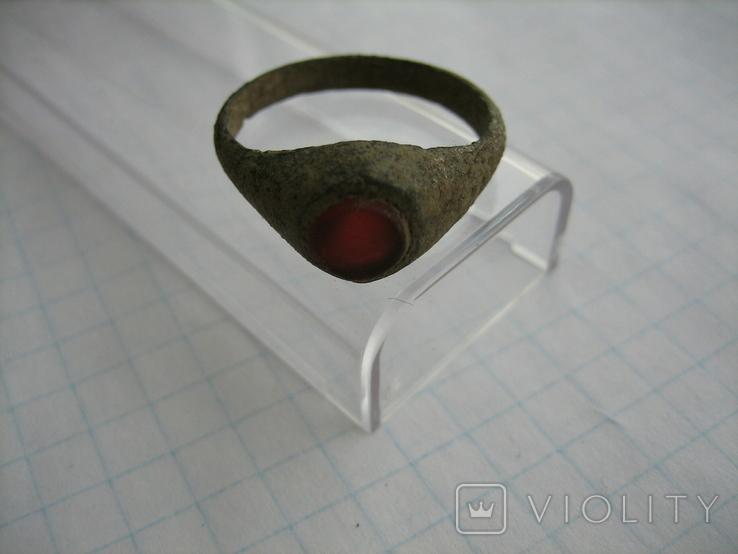 Солдатский перстень ПМВ, фото №4