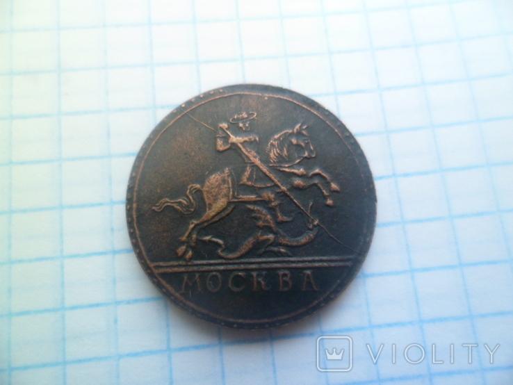 Грош 1727 рік копія, фото №4