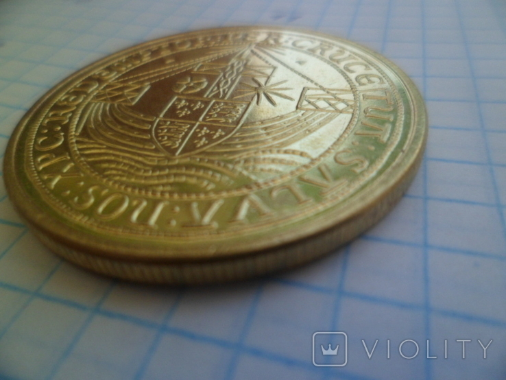 Золота монета копія, фото №6