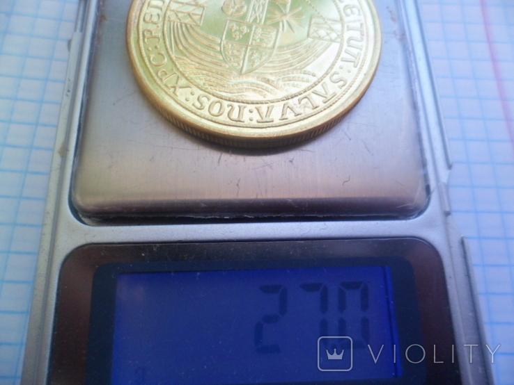 Золота монета копія, фото №7