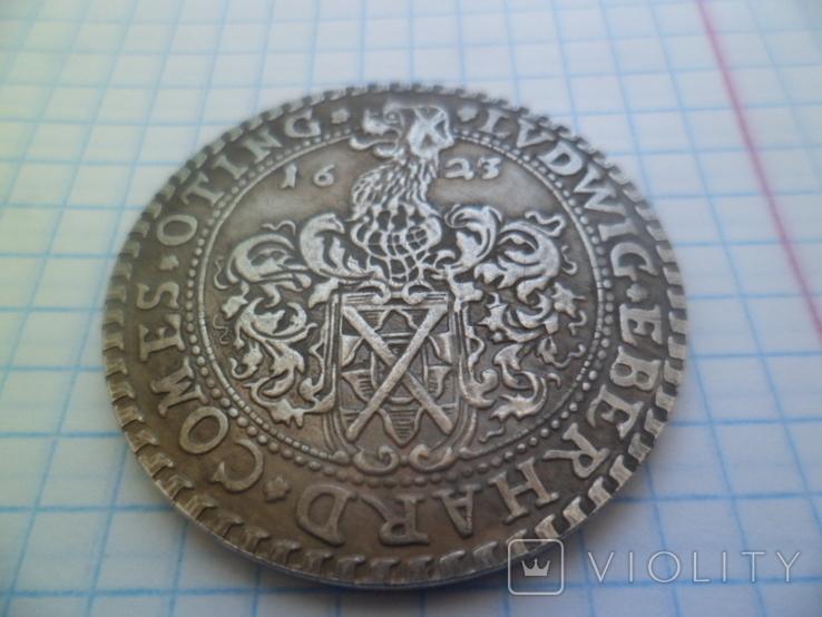Талер 1623 рік копія, фото №3