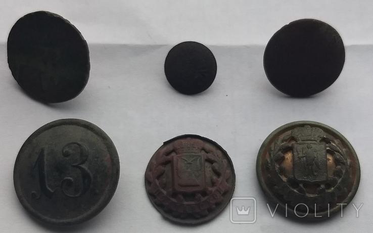 Пуговицы разные, фото №2