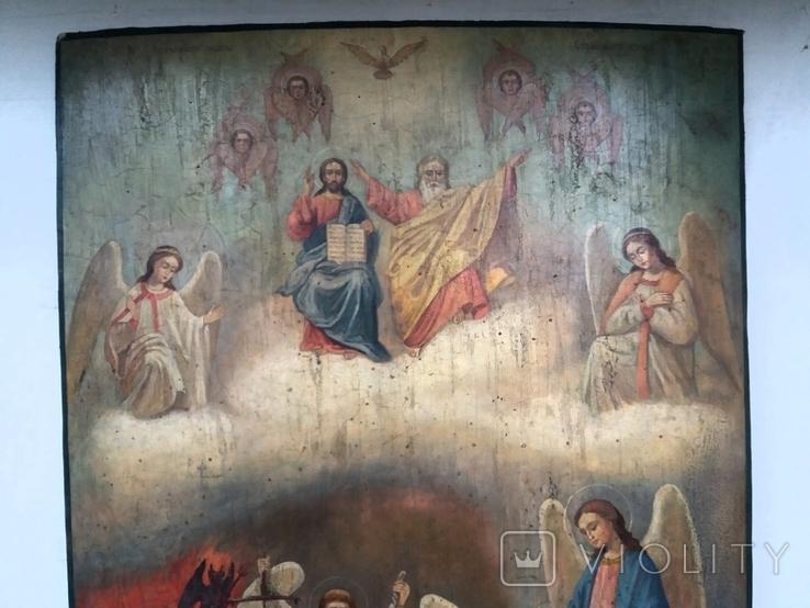 Икона Страшный суд, фото №3