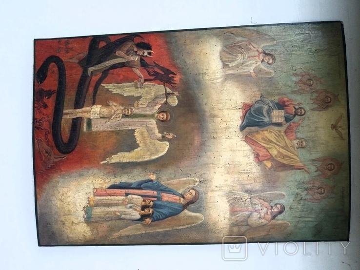 Икона Страшный суд, фото №5