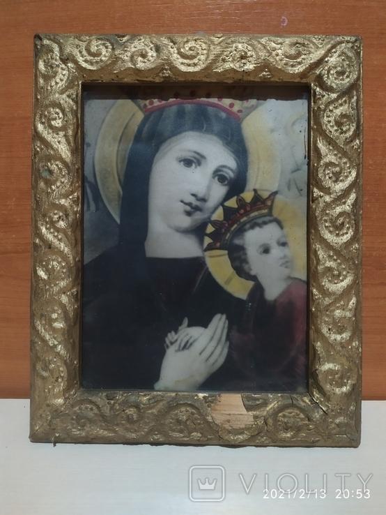 """Икона """"Божией Матери """" Неустанной Помощи, фото №2"""