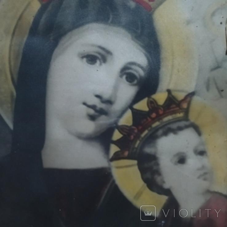 """Икона """"Божией Матери """" Неустанной Помощи, фото №5"""