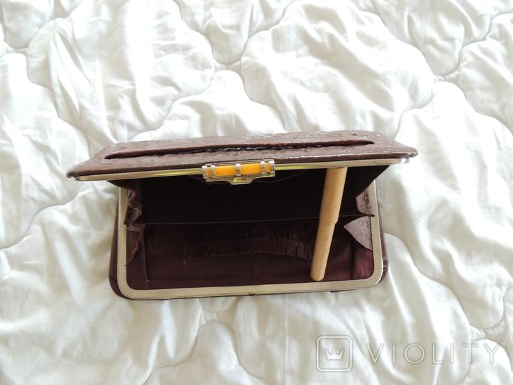 Старинная женская сумка, фото №6