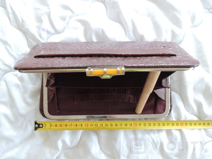 Старинная женская сумка, фото №7