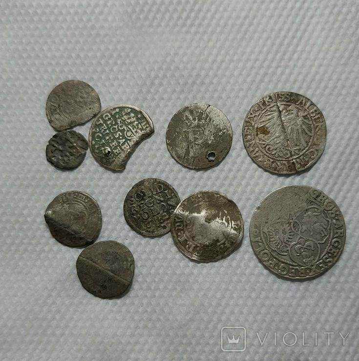 Срібні монети 10шт., фото №3