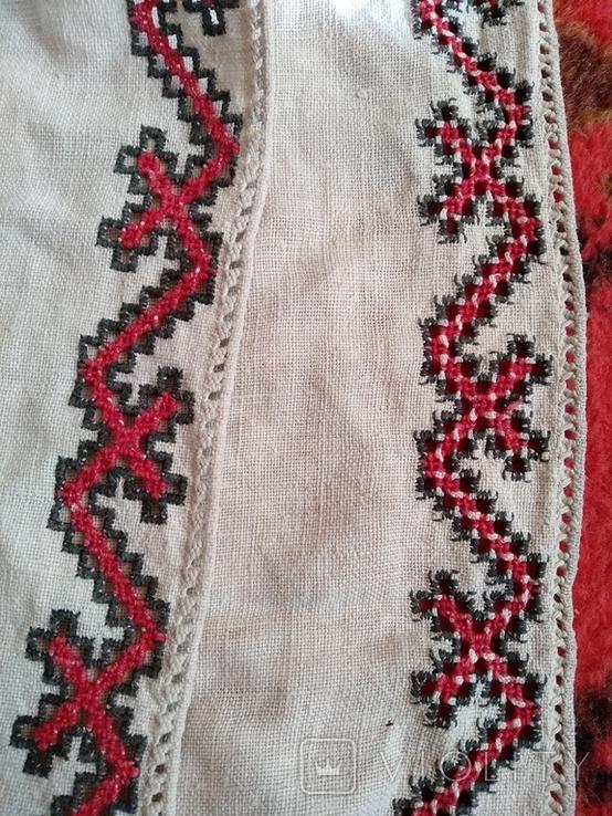 Сорочка вышиванка, конопляна., фото №9