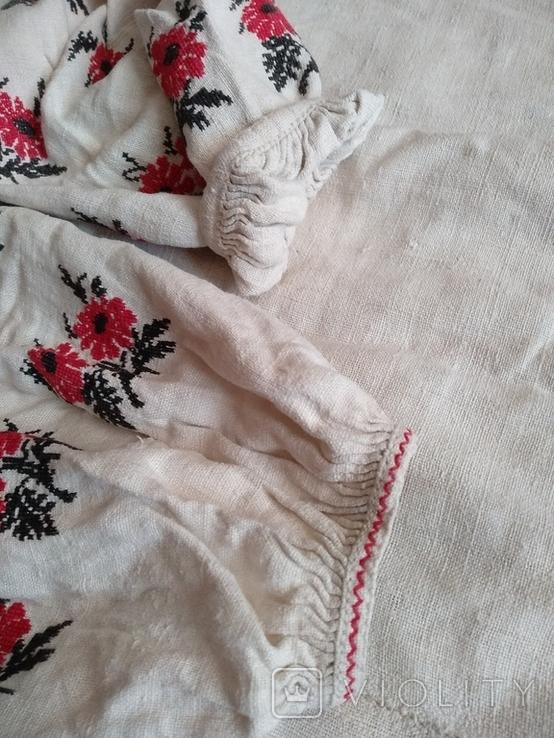 Сорочка вышиванка, конопляна., фото №10