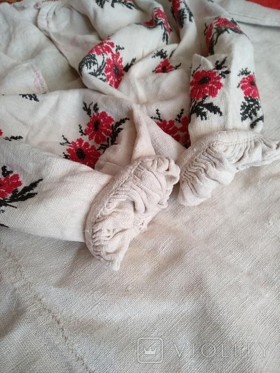 Сорочка вышиванка, конопляна., фото №11