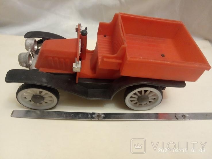 Старый автомобиль (заводной), фото №2