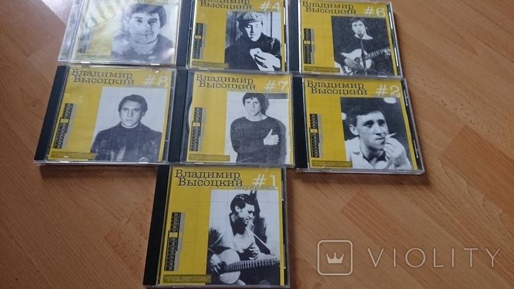 CD В. Высоцкий (лот из 7 дисков)