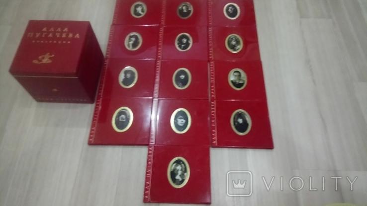 CD Алла Пугачева, Box set (Австрия) коллекционный, фото №5