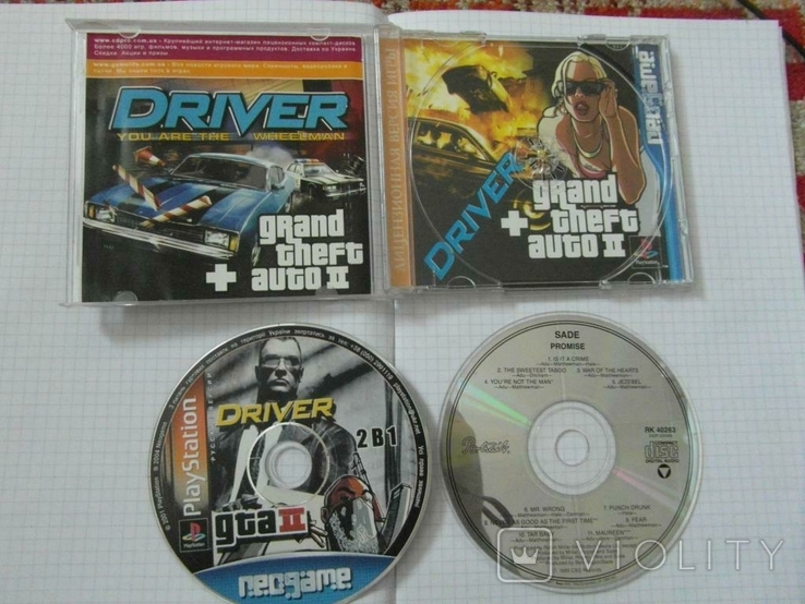 Диск-игра для Playstation.№23.цена за 2 диска., фото №2