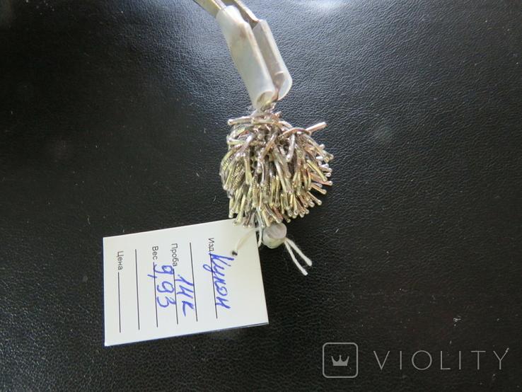 Кулон из золота 14K 9.93 грамма, фото №4