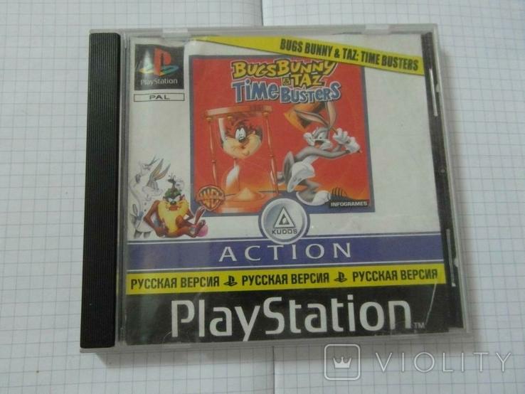 Диск-игра для Playstation.№26, фото №2
