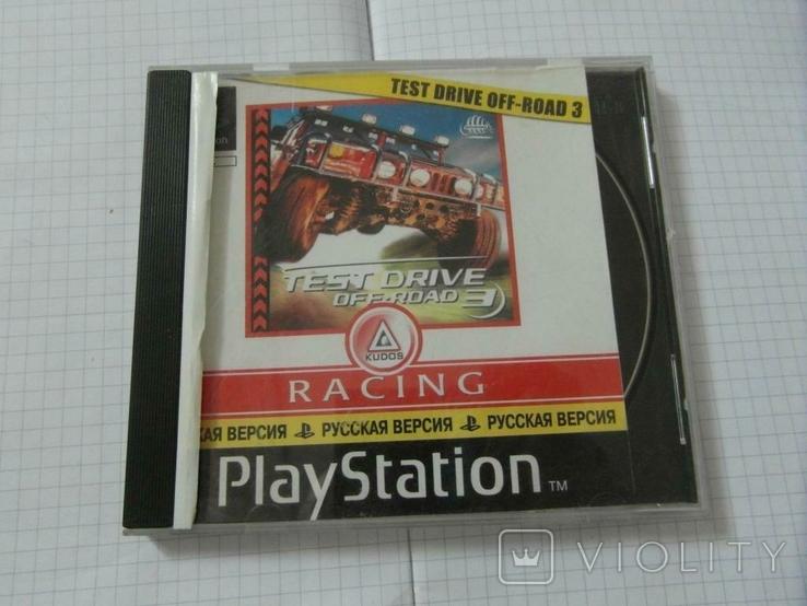 Диск-игра для Playstation.№28, фото №2