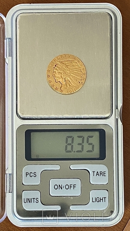 5 долларов. 1911. США (золото 900, вес 8,35 г), фото №5