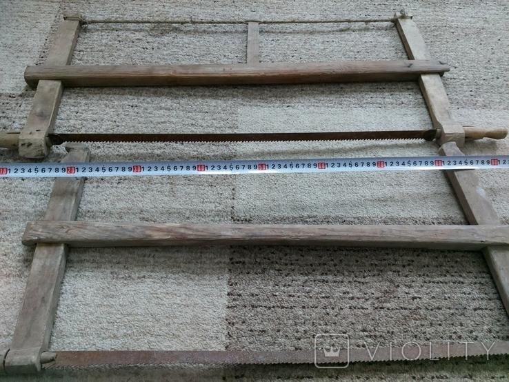 Столярний інструмент лучковая пилка, фото №2