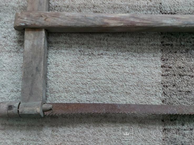 Столярний інструмент лучковая пилка, фото №6
