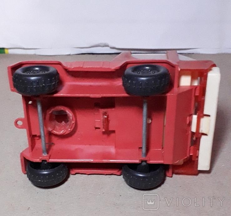 Машинка Пожарная СССР с выдвижной лестницей (3 секции), фото №7