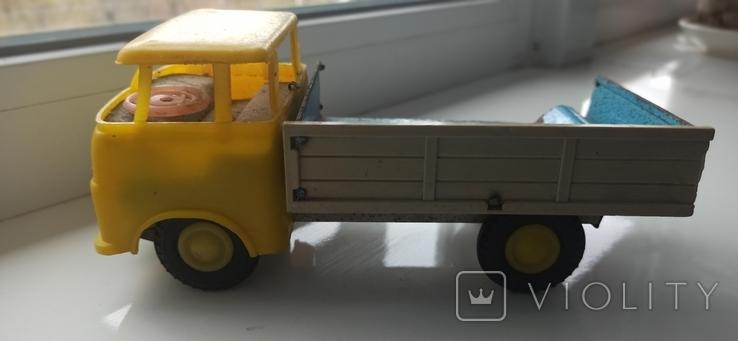 Грузовик игрушка машинка СССР., фото №2