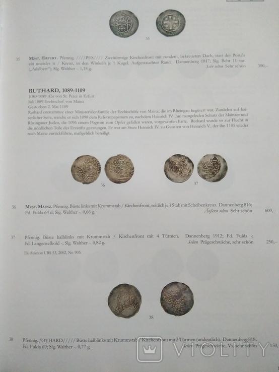 Каталог , аукционник монет ,города Майнц., фото №7
