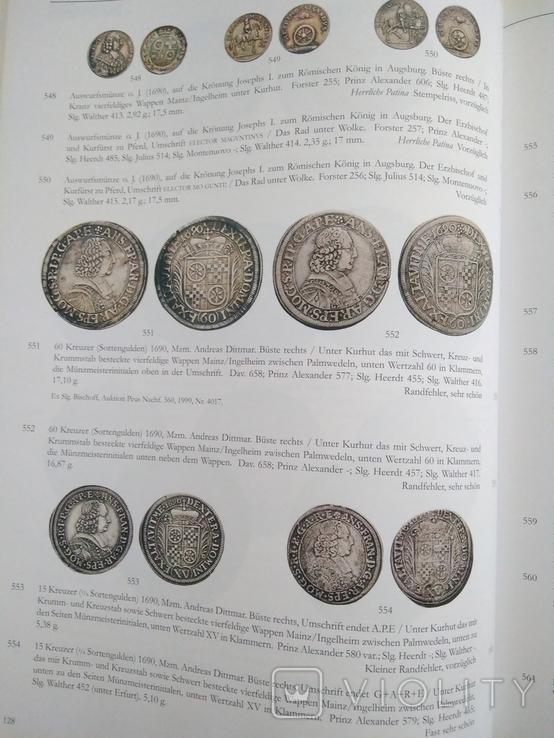Каталог , аукционник монет ,города Майнц., фото №8